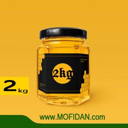 خرید عسل طبیعی سهند 2 کیلویی