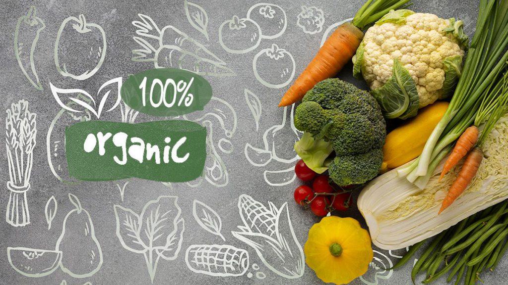 محصولات غذا های ارگانیک
