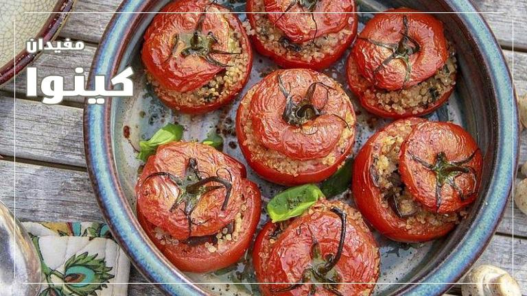 دلمه-گوجه-فرنگی-و-فلفل-دلمهای-با-کینوا