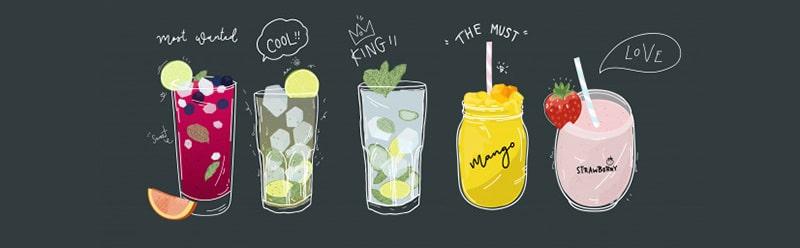 نوشیدنی های بدون گلوتن