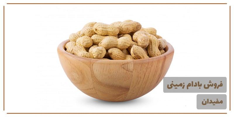 قیمت بادام زمینی