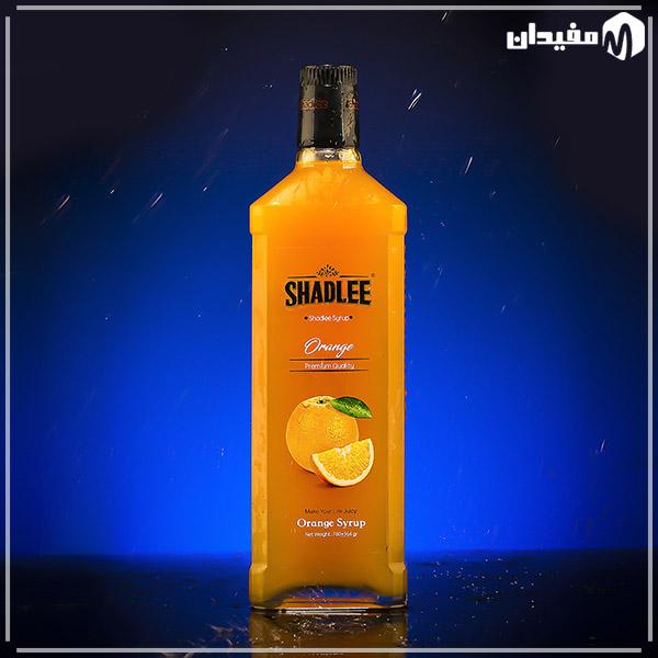 شربت پرتقال شادلی شیشهای