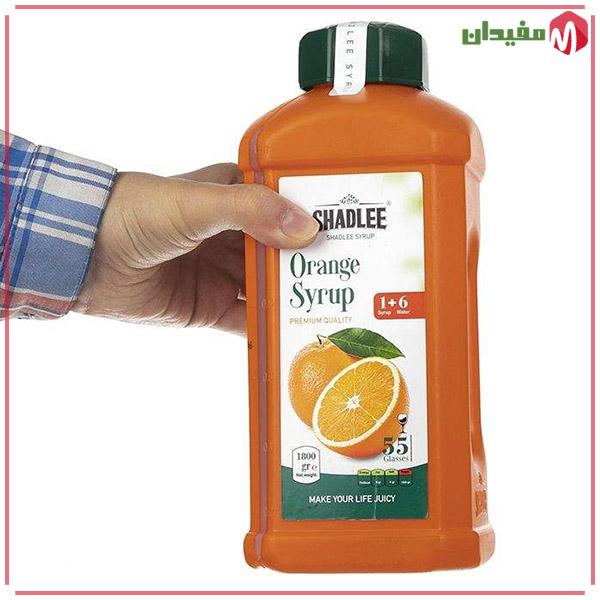 شربت پرتقال شادلی