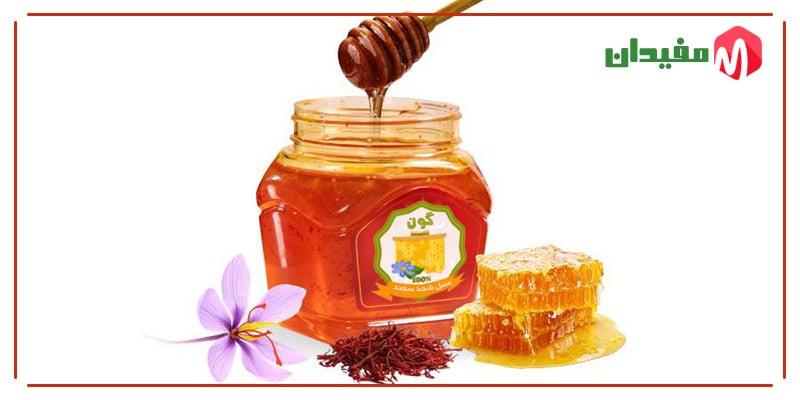 فواید ترکیب عسل و زعفران