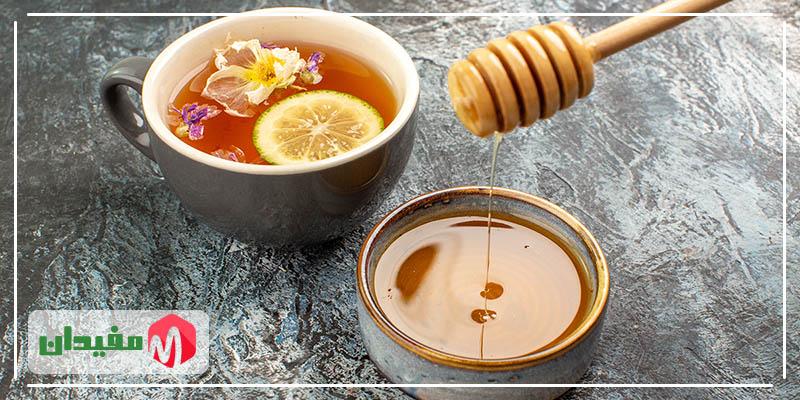ترکیب عسل و لیمو